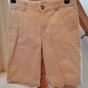 Teen boys khaki shorts